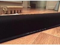 Philips Sound Bar 2.0 CH bass reflex system USB audio 40W