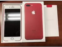 iPhone 7 Plus red 256gb unlocked boxed