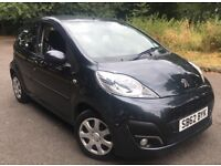 2012 (62) Peugeot 107 Active 5 Door 1.0 Petrol In Grey Exceptional fuel economy £0 Road year tax