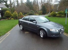 Limited Edition Audi A4, full Viccaro Leather, Gun Metal Grey
