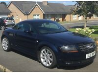 AUDI TT 2004, LADY OWNER, FULL SERVICE HISTORY, STUNNING METALLIC NAVY BLUE