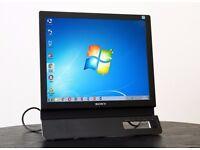 "Sony 17"" TFT Flat LCD Color Computer Monitor DVD-D / VGA ports"