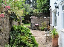 4 Bed Semi-detached House with Secluded Garden in the North Wales Coastal Village of Penmaenmawr