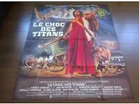 clash of the titans ' ray harryhauen ' large ( 120 cm x 160 cm ) cinema poster