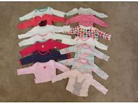 Bundle of Babygrows 3-6 Months (Long & Short Sleeved Baby Grow Clothes)