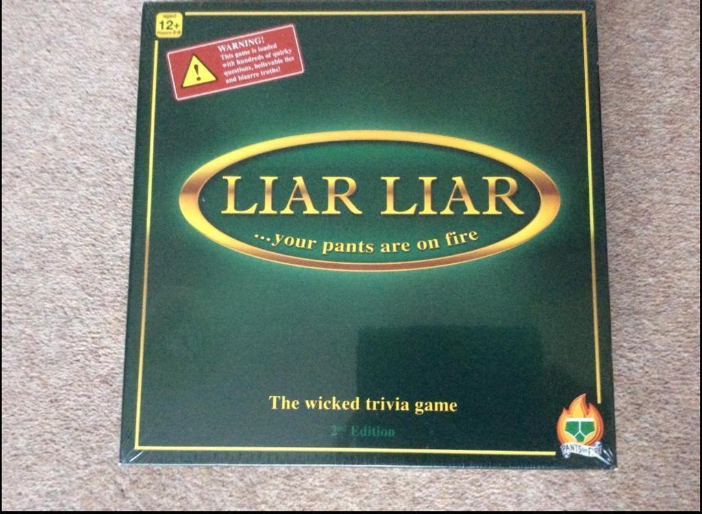Liar Liar trivia game