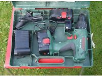 Bosch PSB 18-VE2 Cordless Drill in case
