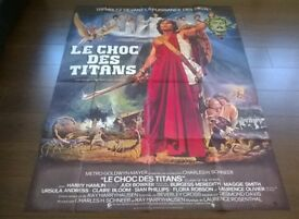 clash of the titans ' ray harryhauen ' large ( 120 cm x 160 cm ) cinema poster