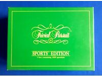 TRIVIAL PURSUIT SPORTS EDITION - BOX of 3000 QUESTIONS
