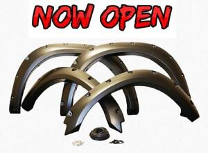 NOW OPEN IN GP! Grizzly Fender Flares! ONLY $315/ Set of all 4!! Durable and Premium Quality!