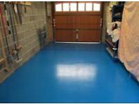 GREEN AND BLUE FAST DRYING POLYURETHANE FLOOR PAINT