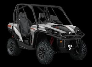 2017 can-am Commander 800R XT $54.41/week (120 months@7.99%) + t