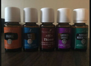 Unopened Young Living essential oils