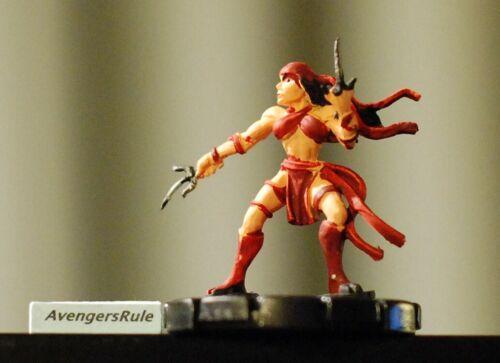 Marvel Heroclix 10 Figure Lot #42 Whirlwind Controller Elektra Puppetmaster REV