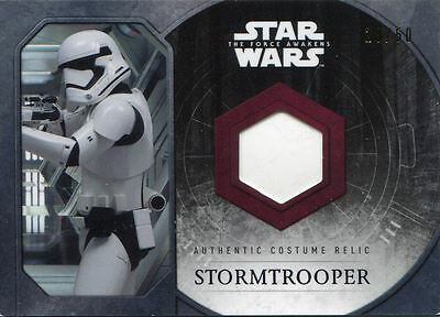 Star Wars Force Awakens Series 1 Purple Stormtrooper Relic Costume Card Corset