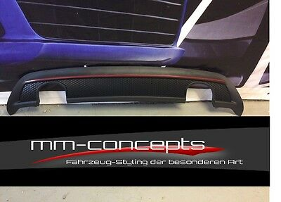 Diffusor hinten für Mercedes Benz A-Klasse W176 A45 AMG A250 Sport Heckansatz