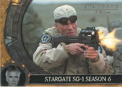Stargate SG-1 Season 6 - Spring 2004  #P2 Promo Card