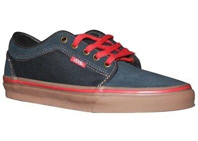 VANS Chukka Low Navy Blue/Gum Casual Shoes MEN'S 6.5 WOMEN'S 8