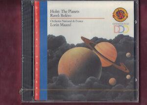 HOLST-I PIANETI (PLANETS),RAVEL- BOLERO MAAZEL CD NUOVO SIGILLATO - Lissone, Italia - L'oggetto può essere restituito - Lissone, Italia
