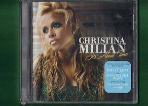 CHRISTINA-MILIAN-IT-039-S-ABOUT-TIME-CD-NUOVO-SIGILLATO