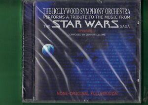 THE-HOLLYWOOD-SYMPHONY-ORCHESTRA-STAR-WARS-SAGA-EPISODE-1-CD-NUOVO-SIGILLATO