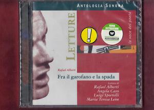 LETTURE-RAFAEL-ALBERTI-FRA-IL-GAROFANO-E-LA-SPADA-CD-NUOVO-SIGILLATO