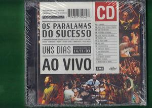 OS PARALAMAS DO SUCESSO - UNS DIAS 14/11/03 AO VIVO CD NUOVO SIGILLATO - Italia - L'oggetto può essere restituito - Italia