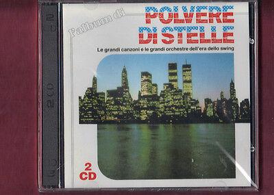 L'ALBUM DI POLVERE DI STELLE le grandi orchestre swing DOPPIO CD NUOVO SIGILLATO