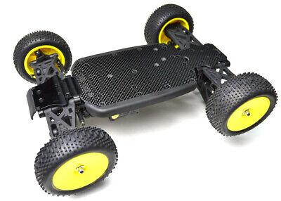 New Exotek Losi Mini 8ight-T TLR Truggy Carbon Fiber Bottom Plate Set 1471 NEW