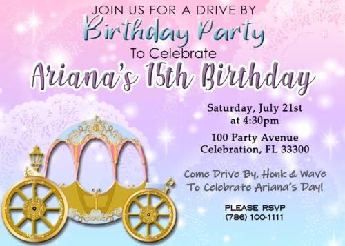 Fifteens Drive By Caravana Digital Electronic Invitation