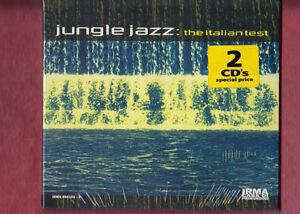 JUNGLE-JAZZ-THE-ITALIAN-TEST-DOPPIO-CD-DIGIPACK-NUOVO-SIGILLATO