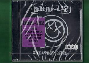 BLINK-182-GREATEST-HITS-CD-NUOVO-SIGILLATO