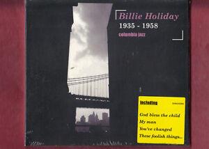 BILLIE-HOLIDAY-1935-1958-COLUMBIA-JAZZ-CD-DIGIPACK-NUOVO-SIGILLATO