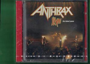 ANTHRAX-LIVE-THE-ISLAND-YEARS-CD-NUOVO-SIGILLATO