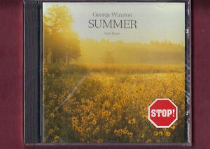GEORGE-WINSTON-SUMMER-SOLO-PIANO-CD-NUOVO-SIGILLATO