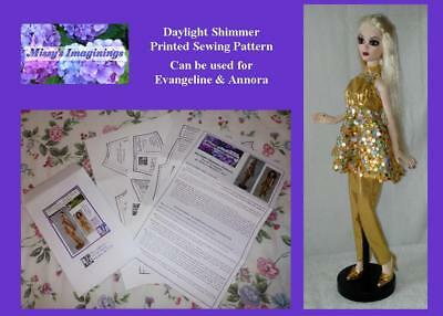 PRINTED PATTERN Daylight Shimmer for Evangeline or Annora