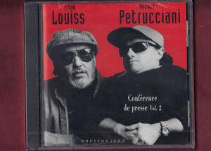 MICHEL-PETRUCCIANI-EDDY-LOUISS-CONFERENCE-DE-PRESSE-VOL-2-CD-NUOVO-SIGILLATO