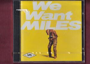 MILES-DAVIS-WE-WANT-MILES-CD-NUOVO-SIGILLATO