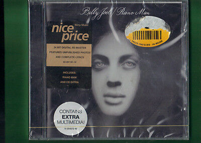 BILLY JOEL - PIANO MAN REMASTEREDCD NUOVO SIGILLATO