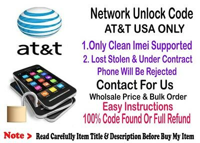 Network Unlock Code Samsung Galaxy Mega 6.3 SGH-I527 Mega 2 GT-G750A AT&T USA