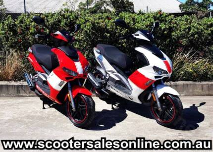 2017 MCI Formula 125cc Sport Scooter (new) WHITE ONLY