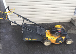Cub cadet 6.75 hp lawnmower with seasonal warranty