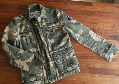 Tommy Hilfiger Camo Camouflage Jacket Size S