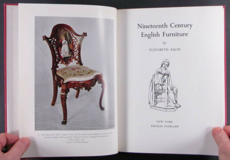 Book: English Victorian and Regency 19th Century Furniture