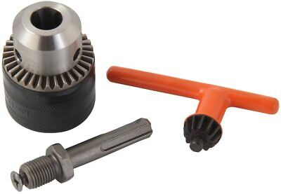 12 Drill Chuck With Sds Plus Adaptor And Grip Chuck Key 3-piece