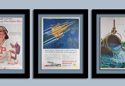 B25 Fighter Jet, Lifersavers & Alpha-Bits ads