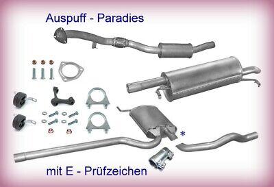 Endschalldämpfer VW PASSAT B5 B6 1.6 74//75 PS Stufenheck Kombi Auspuff HHJ