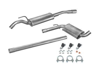 Abgasanlage Auspuff VW Passat 35i B3 (3A2 & 3A5) 1.6 TD & 1.9 TD bis Bj. 93 +Kit