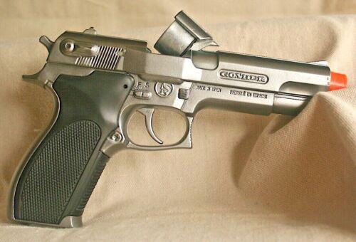 Spanish Cap Gun Pistol with Big Orange Tip for Safety BRAND NEW 26002