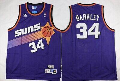 BARKLEY CAMISETA DE LA NBA DE LOS SUNS MORADA. TALLA S,M,L.